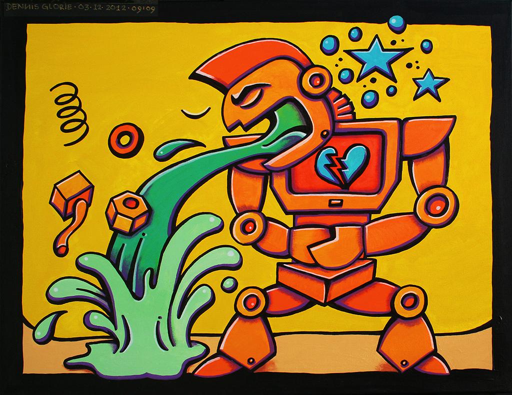 Bionic Broken Heart - Dennis Glorie