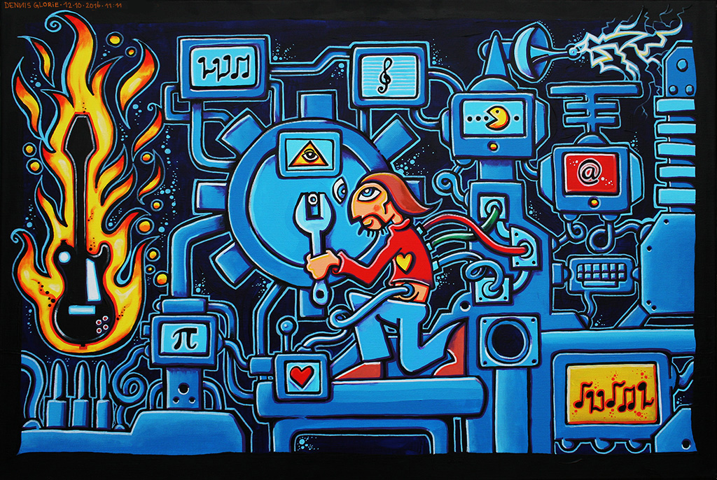 Roon-Bot: 3,141592653 - Dennis Glorie