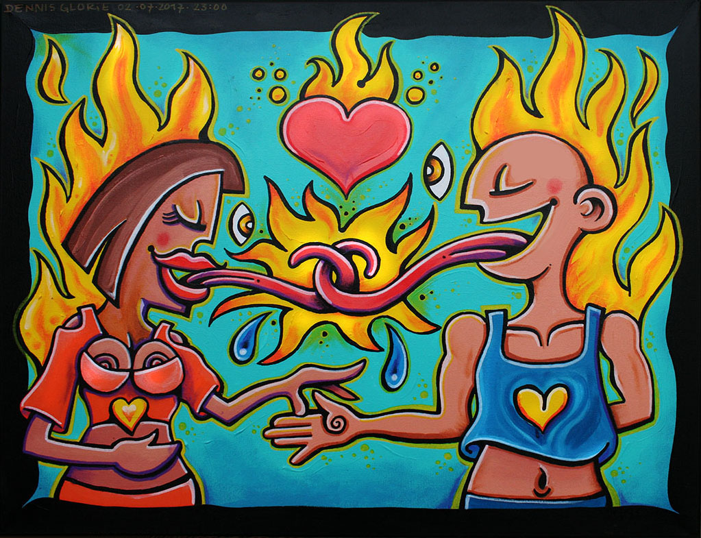 The Kiss of Fire! - Dennis Glorie