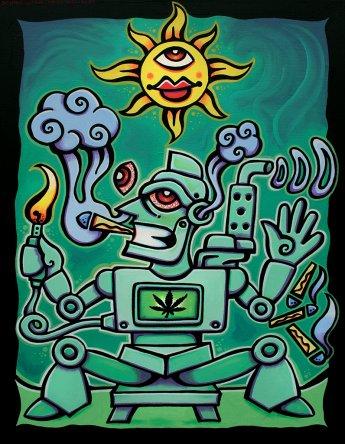 Red Eye Robot - Dennis Glorie