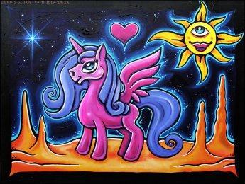 Space Unicorn - Dennis Glorie